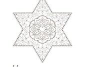 Star of David-Golden Spir...