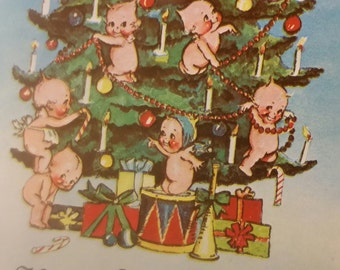 Kewpie Christmas Postcards