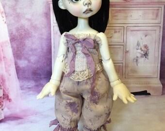 Vintage Style Corset Set fits Wendy Weird by Nikki Britt