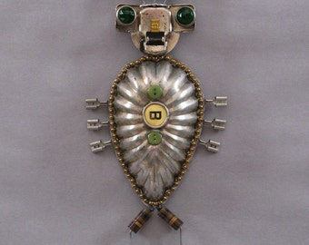 Robot Sculpture - Bugsley