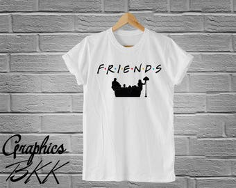FRIENDS Shirt Friends T-Shirt Friends Tee Graphic Logo Unisex T-Shirt 90's Friends TV Show Shirt F.R.I.E.N.D.S shirt (S-XL)