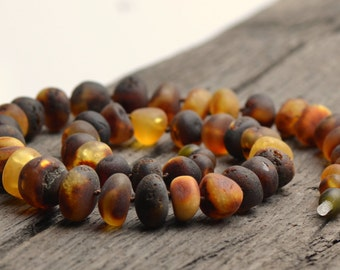 Unique Amber Necklace for Woman - Vintage Necklace - Authentic Baltic Amber