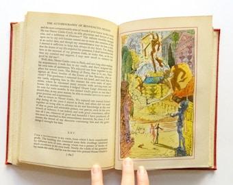Salvador Dali - 16 Bookplates - The Autobiography of Benvenuto Cellini - Art Illustrations by Dali
