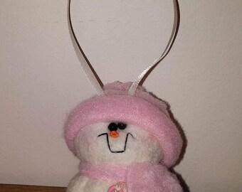 Silly Little Snowman Ornament, Christmas Ornament, Snowman Ornament, Hanging Ornament, Snowman