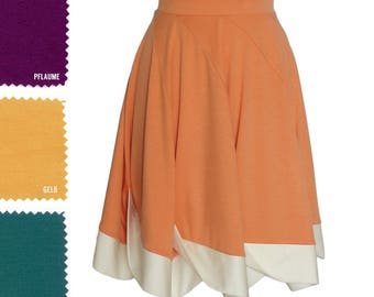 Jersey skirt | Etsy