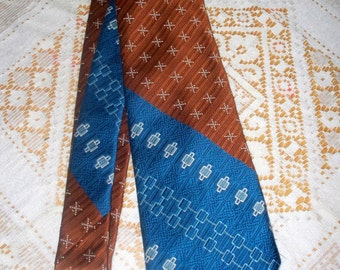 1970s Coker's of So Carolina Men's Tie - 100% Polyester