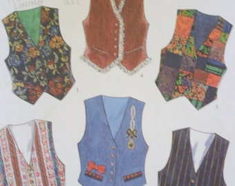 Kids Vest Sewing Pattern/ New Look 6126/Size 7-12