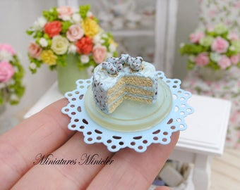 Miniature Dollhouse Easter Pie