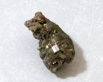 Gold Colored Pyrite Crystal Fool's Gold PYCL-2