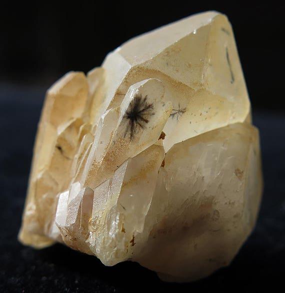 Rare Hollandite Included quartz. 102 Carats. Large Inclusion in a side car! Madagascar