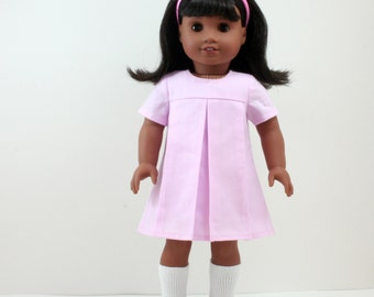 1960s Pink American Girl style 18 inch Doll Dress and Slip