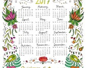 "2017 Calendar: ""They Tried to Bury Us / They Didn't Know We Were Seeds"""