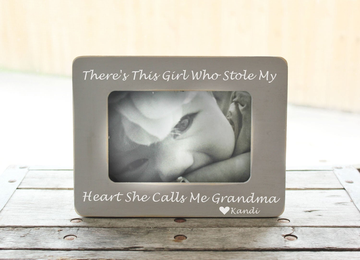 There's This Girl Who Stole My Heart She Calls Me Grandma