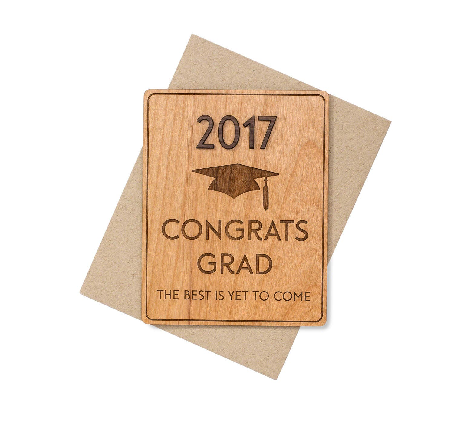 Wedding Gift For High School Friend : ... gifts etsy class graduation gift college card for him her high school