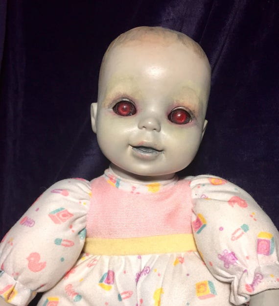 Ally Astri Ector Original Undead Red Eyed Dressed For Bed Ghoul Soft Body Zombie Biohazard Baby