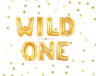 Wild One Balloons, Kids Party, Birthday Party, Balloon Banner, Gold Silver Balloons, Animal Birthday, Party Balloons, Letter Balloons