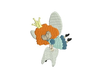 tooth fairy embroidery design
