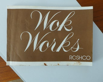 Wok Works, ROSHCO, Chinese Cooking, Wok Recipes