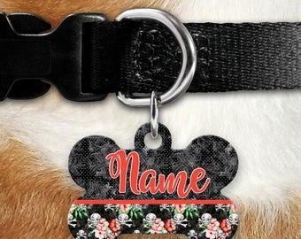 Pirates Life Identification Tag - Summer - Yo Ho Ho - Tropical - Skull & Crossbones - Pet ID - Custom Pet Tag - Personalized Pet ID - Island