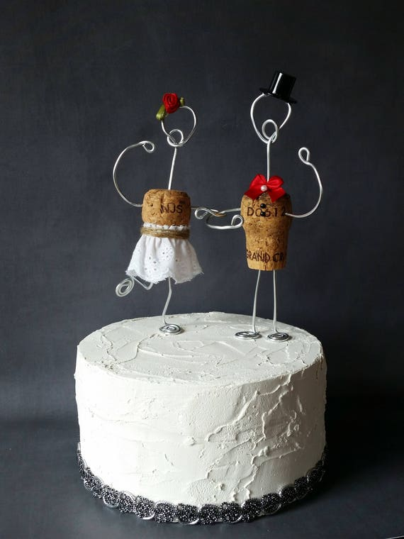 red wedding cake toppers champagne rustic cork wedding cake toppers wine inspired 19179