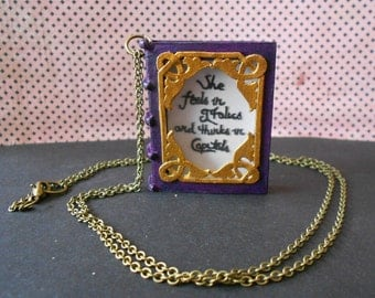 """Necklace Book """"Daisy Miller"""" Henry James"""