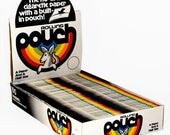 VINTAGE Dead Stock Brand New Rolling Papers POUCH papers Pack of 100 Retail Display AMAZING