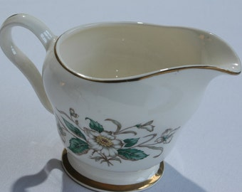 Vintage Knowles Creamer Floral Daisy Replacement China Creamer