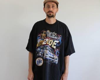 Rusty Wallace Nascar Shirt Mens 2XL