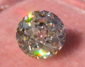 Vintage Jubilee Cut Classique Moissanite from Julia B Jewelry