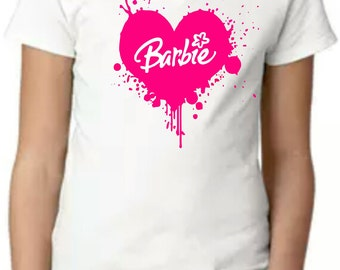 Similar Girls Barbie V-Neck T-shirt