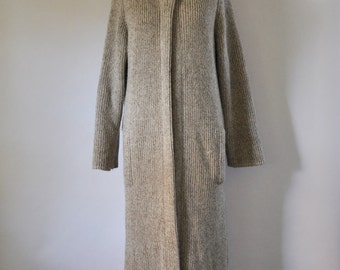 Long sweater coat | Etsy