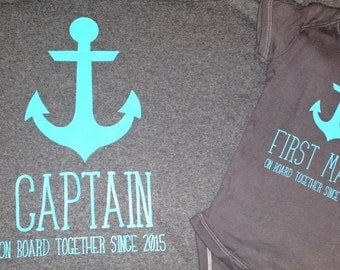Captain / First Mate Shirts