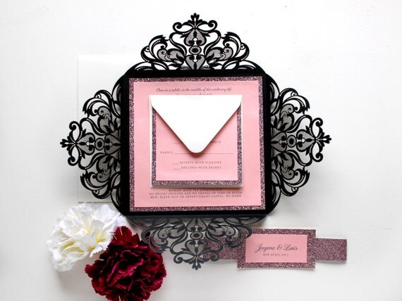 Elegant Wedding Invites Coupon was adorable invitation example