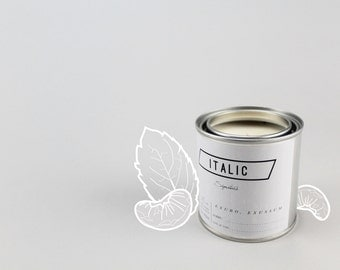 11 // Mint Mandarin - Half Pint (8oz) Scented Soy Candle in Paint Can