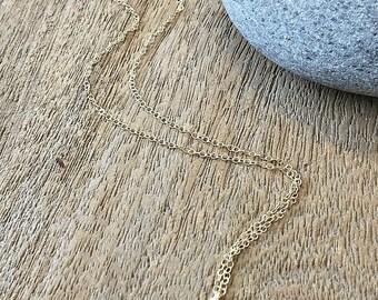 Aquamarine Necklace Aquamarine Jewelry March Birthstone Beach Wedding Bridesmaid Gifts Aquamarine glass gemstone necklace aqua 14k gf