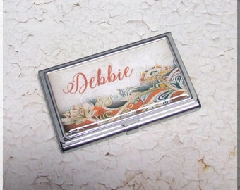 Business Card Cases, Business Card Holders.credit card case,metal,decorative,refillable case