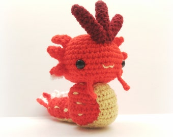 Crochet Gyarados Inspired Chibi Pokemon