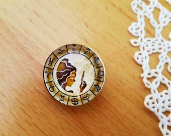 Jewelry Noosa Charms Chunks Zodiaс Virgo