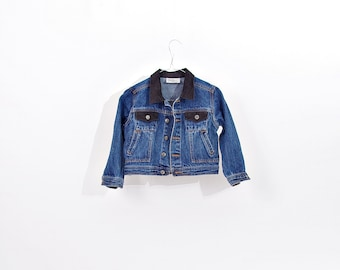40% OFF SALE - Power Kids Denim Trucker Jacket / Size 116 - 5/6Years