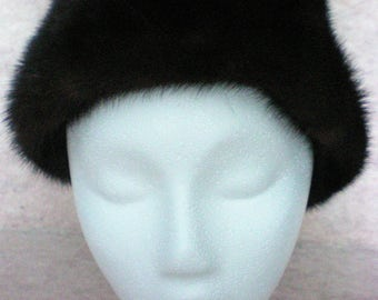 Small Ranch Mink Hat - 4982