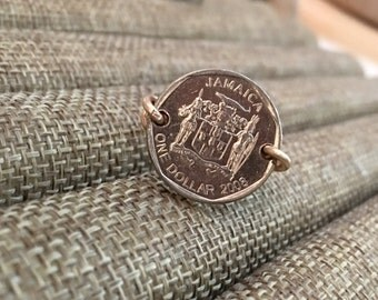 Jamacian  Coin Ring / Jamaica / qty 1