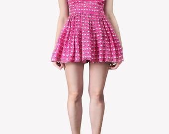Cotton Barbie kittens skater dress