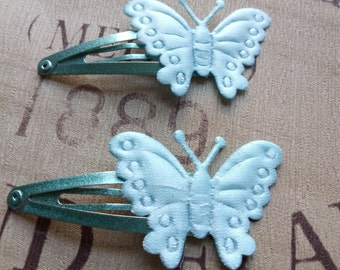 Butterfly Hairclips - Hair Clips - Hairclips - Hair clips-  Long Hair - Girls Hairclips - Butterflies - Hair Accessories - Wedding