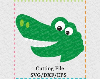EXCLUSIVE SVG eps DXF Cutting File Alligator svg, mascot svg, team svg, gators cutting file, gator svg, alligator cut file, gators svg