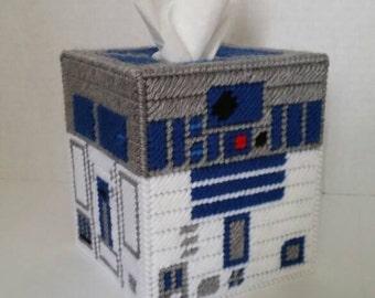 R2D2 Star Wars Tissue Box Cover