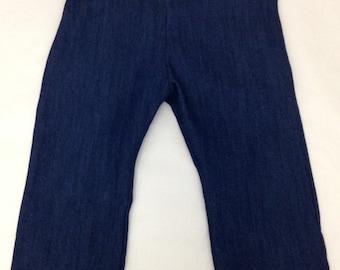 baby boy cloth diaper jeans, beanstalk britches, cloth diaper pants, one size cloth diaper pants