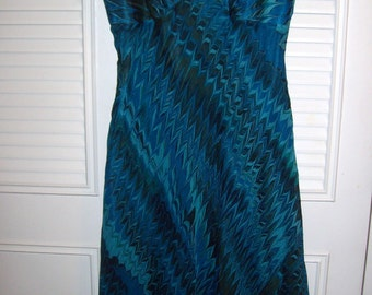 Vintage Evening Laundry by Shelli Segal Silk Tea Length Sought-After Find Size 6 see details