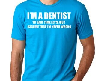 Dentist T-Shirt DDS Gift For Dentist Occupation Tee Shirt