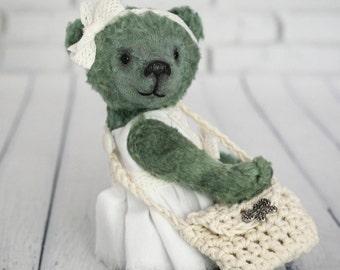 Teddy bear, OOAK,  artist teddy bear, collectible toy, handmade toy