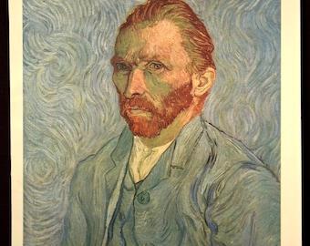 Van Gogh Self Portrait Wall Decor Van Gogh Art Print Artwork